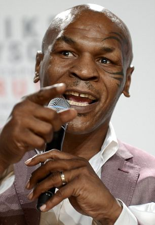 Barred: Mike Tyson