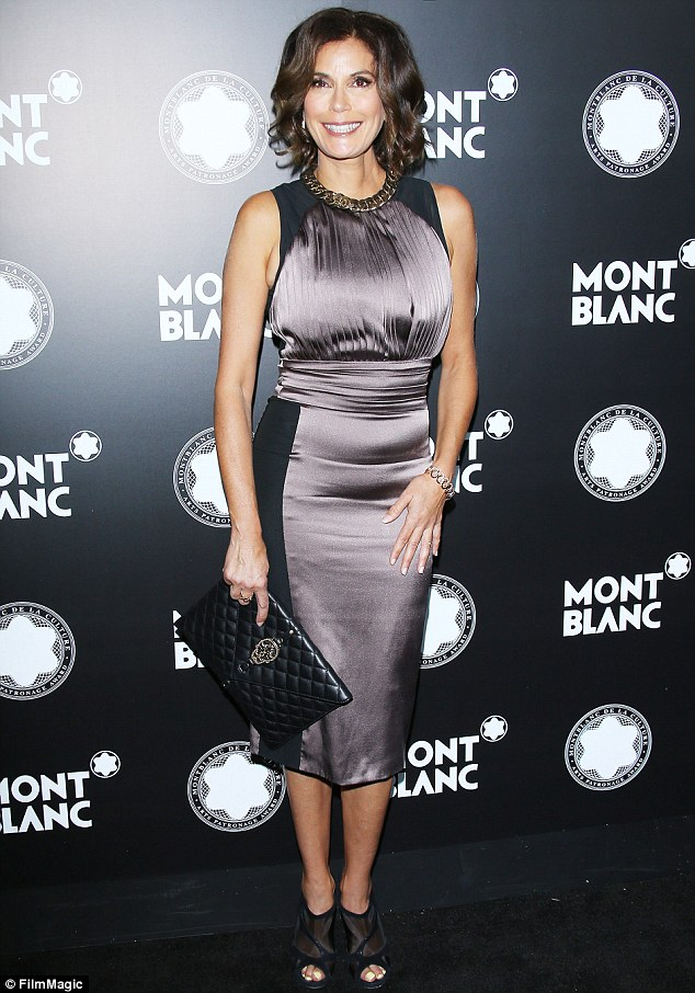 Red carpet darling: Teri has kept a relatively low profile since her ABC series Desperate Housewives went off the air last year