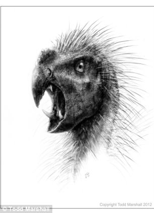 Another artist's impression of the new dinosaur