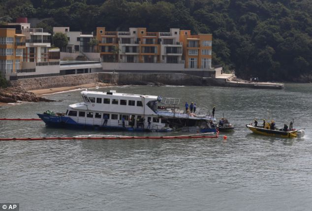 An official with the ferry company involved in the collision that killed 38 people said that the vessel recently passed inspection, but he had no details about how the crash occurred