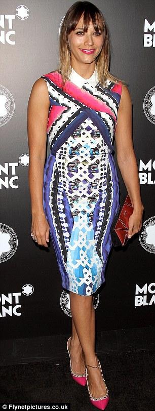 Effortlessly stylish: Actress Rashida Jones and model Selita Ebanks were looking fabulous on the night