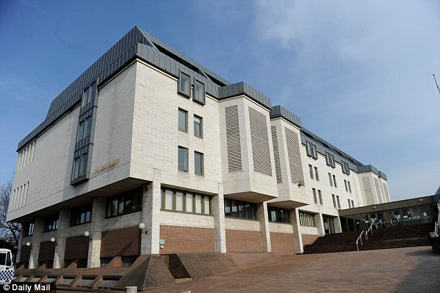 Facing jail: Stephanie Chibnall, 45, denied charges of cruelty to a person under 16 but was found guilty at Maidstone Crown Court (pictured)