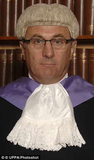 Judge Griffith Jones QC, pictured, told Chibnall she was likely to face a prison sentence