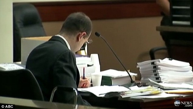 Convicted: Daker served as his own attorney during his trial