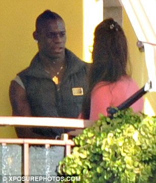The couple are said to have spent the night together at Fico's home, where they were pictured kissing and talking