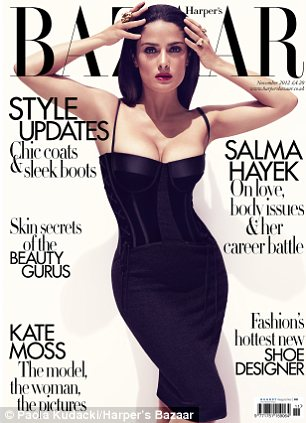 To read the full interview pick up a copy of the UK edition of Harper's Bazaar on sale now