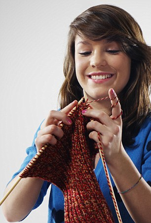 At this year's British Nylon Fair it was revealed that two-thirds of teenagers are knitters.