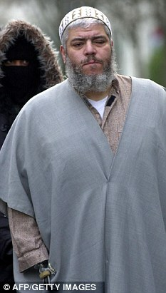Delaying tactics: A High Court judge said the sooner hate preacher Abu Hamza (above) stands trial the better