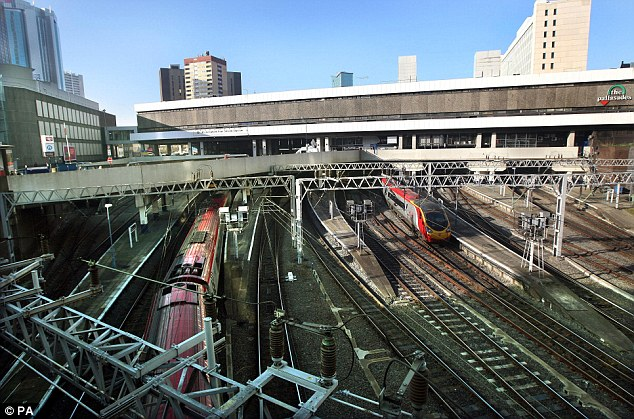 The train had been travelling from Birmingham New street to London Euston when the incident happened at Brandon Wood, near Coventry.