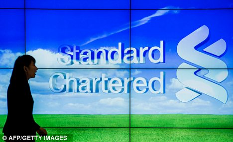 Revolt: But Standard Chartered will not consider changing the balance of its boardroom, according to well-placed sources