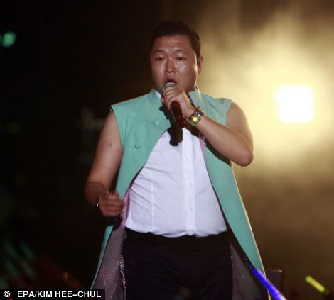 Psy is a popular performer in South Korea