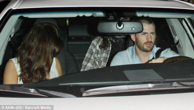 Date night: The Avengers actor took Minka to Craig's restaurant in West Hollywood on Monday night