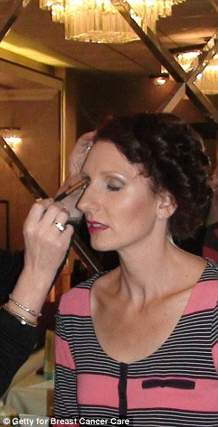 Make-up time at the hotel before the show