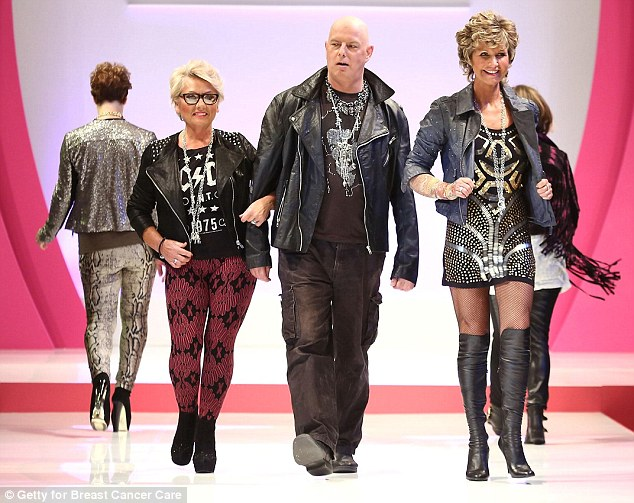 'It's a wretched disease that robs you of your femininity': TV presenter Alison Keenan enjoys feeling sexy for her catwalk debut at The Breast Cancer Care Show
