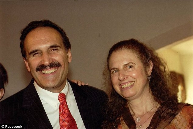 Victims: Helene Zucker Seeman, pictured right with her husband Fred, was killed when her car was hit by Locane-Bovenizer's vehicle