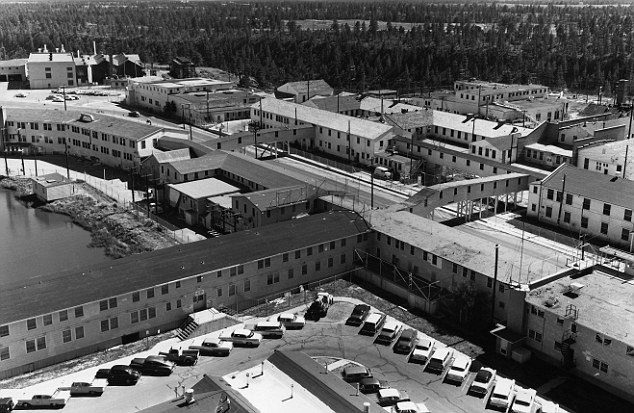 The Los Alamos laboratory in New Mexico, one of Project Manhattan's research centres