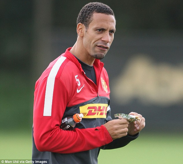 Preparations: Ferdinand is expected to play at the heart of United's defence at Newcastle