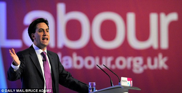 Busy week: Miliband was praised for his speech at this week's conference in Manchester