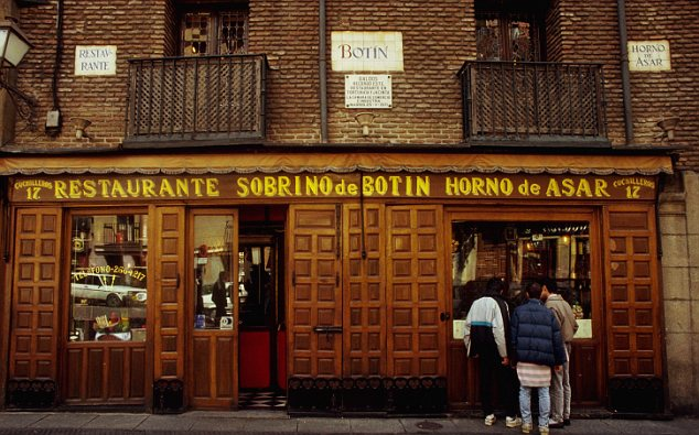 Botin, Madrid's oldest restaurant
