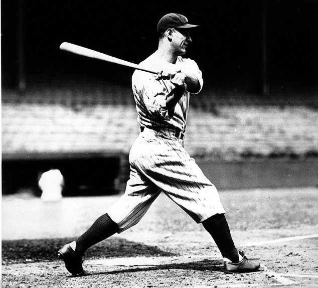 Icon: Yankees first-baseman Lou Gehrig may not have died of the disease which bears his name