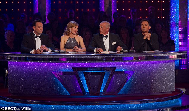 New line-up: Darcey Bussell made her debut as the replacement judge for Alesha Dixon on Friday night's show