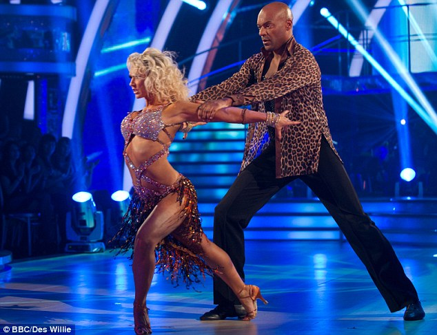 Impressive! Colin Salmon wowed with his early potential as he danced with professional partner Kristina Rihanoff