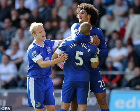 Naismith (left) must now concentrate on his club form for Everton instead