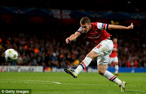 Stripped: Aaron Ramsey had his Welsh captaincy taken from him