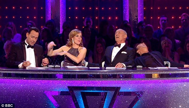 Chemistry: She fitted in well with the other judges, Len Goodman, Bruno Tonioli, and even Craig Revel Horwood, who was being mean to the dancers