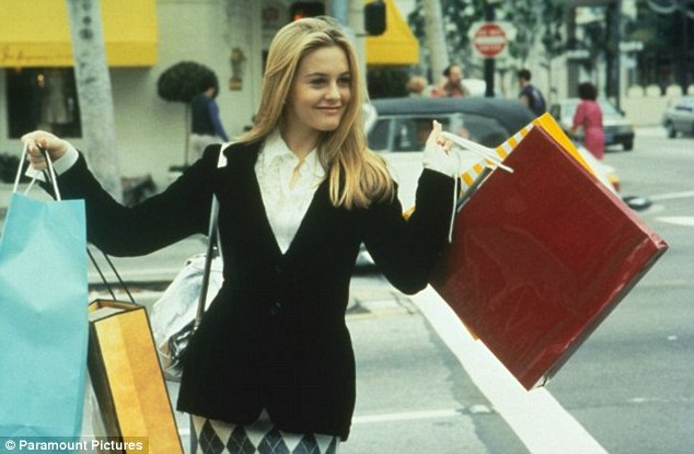 A little retail therapy anyone? Cher's computerised closet in Clueless was the envy of every girl