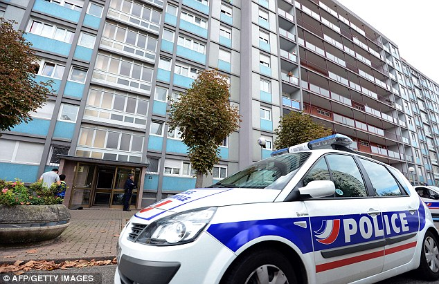 Arrests: Around 11 other men believed to be connected to the extremist Salafist group were arrested at locations around France