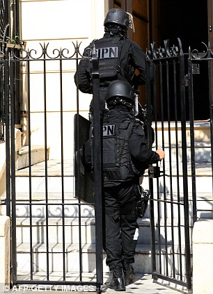 The anti-terror operation comes after extremist Mohammed Merah killed seven people - including four Jews - in Toulouse in March