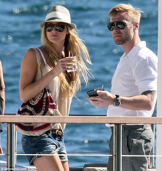 New love: Ronan has been dating Australian TV producer Storm Uechtritz for two months