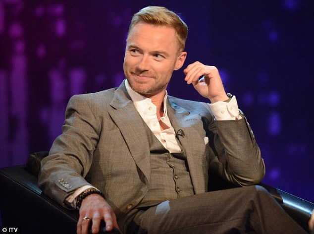 Admitting his mistakes: Ronan Keating speaks about his extra-marital affair on Piers Morgan's Life Stories