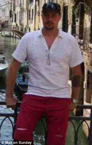 Mark Bridger, pictured on holiday, has been charged with the murder of April Jones