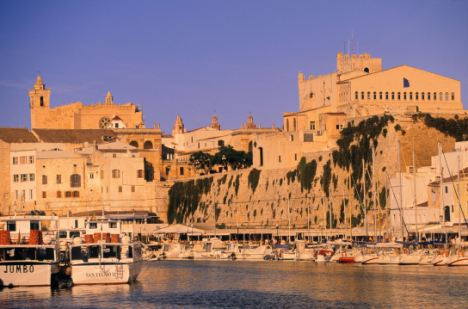 Tragedy: Mr Clough was on holiday with his family in Ciutadella, Menorca when he accidentally fell off a hotel balcony