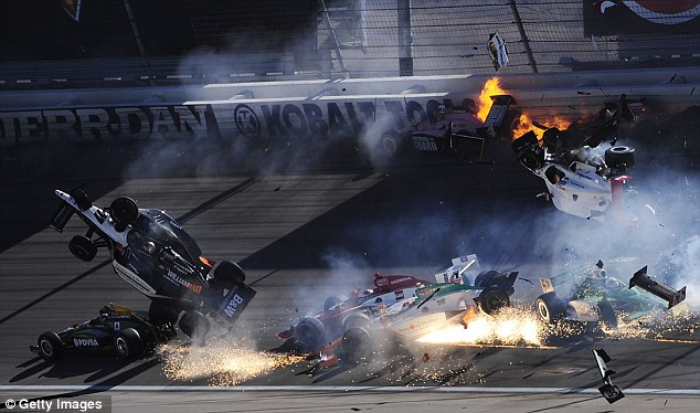 Fatal: The crash that killed Mann's best friend Dan Wheldon