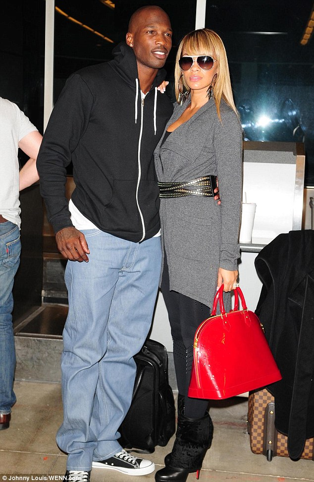 Happier times: Chad wed Evelyn Lozada in July 2012 - before she filed for divorce one month later