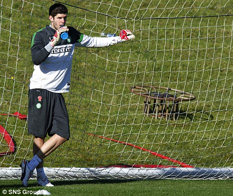 In the mix: Fraser Forster has been called up to the England squad