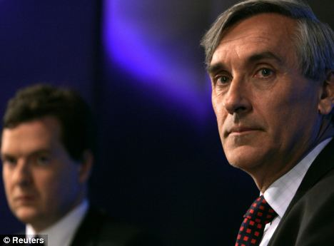 Former Cabinet minister John Redwood (right) said George Osborne needs to make 'popular cuts' and should target benefit tourists