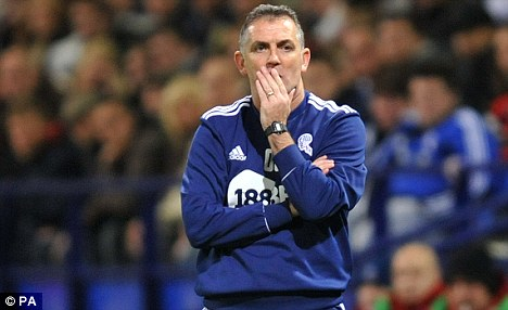 Under fire: Owen Coyle's reign as Bolton boss looks to be drawing to a close