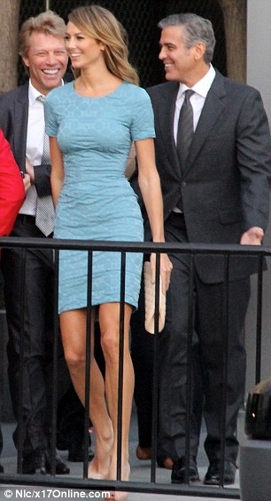 She's got the look: Stacy would make an excellent First Lady, and already dresses the part