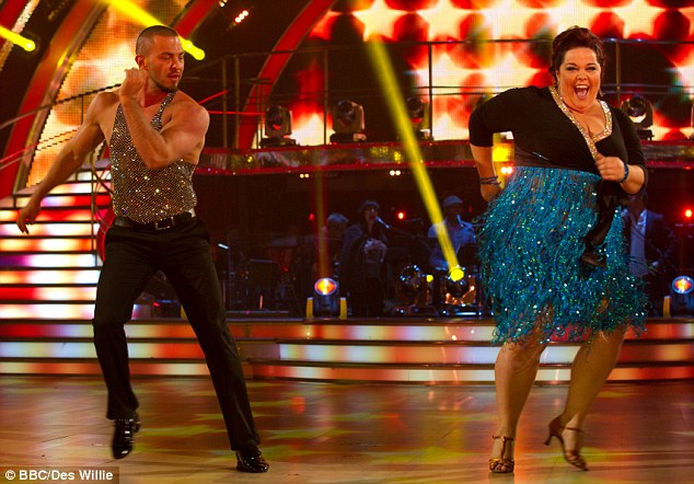 Star of the show: Lisa Riley was the Strictly sensation