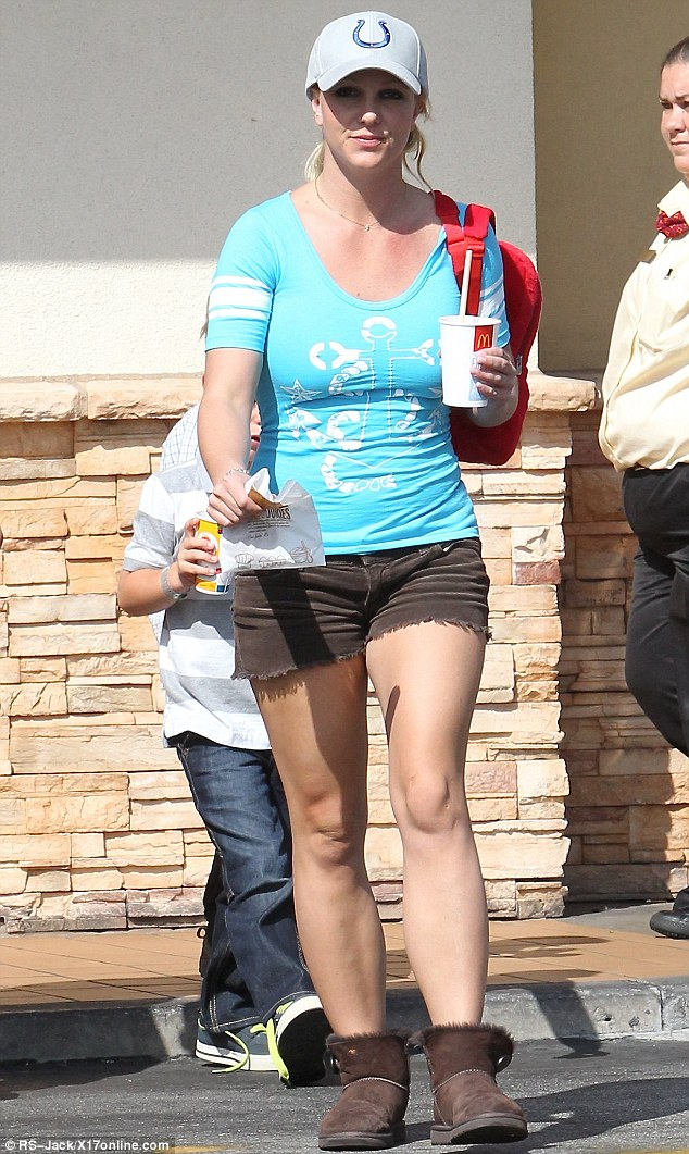 Don't try this at home: Eating McDonald's is not guaranteed to get you a figure like Britney's, or even likely