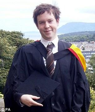Jamie Fox, after graduating from Bangor University