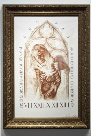"""""""Strata of Self"""", painted in 2010 by artist Vincent Castiglia"""
