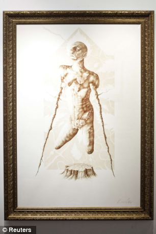 """Conqueror"", painted in 2008 by artist Vincent Castiglia"
