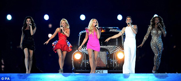 The Spice Girls looked like they hadn't aged a day thanks to the magic cream