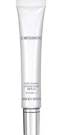 Giorgio Armani new Luminessense Bright Revelator Greige BB Fluid SPF 50/PA++, £60, www.armanibeauty.co.uk