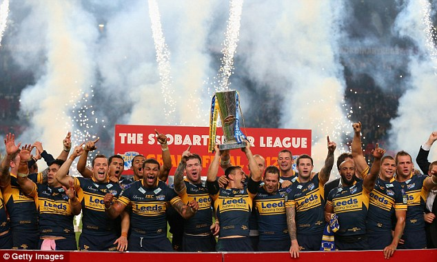 More pain: To make matters worse, Wood was unable to prevent Leeds Rhinos storming to victory